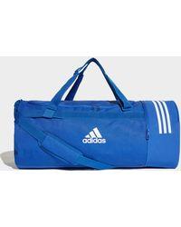 adidas - Convertible 3-stripes Duffel Bag Large - Lyst
