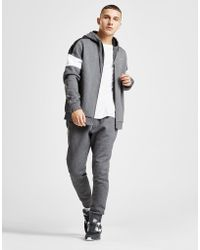Lacoste - Colour Block Sleeve Zip Through Hoodie - Lyst