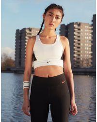 Nike - Training Swoosh Pocket Bra - Lyst