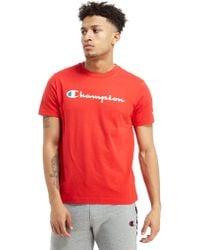 Champion - Core Script T-shirt - Lyst
