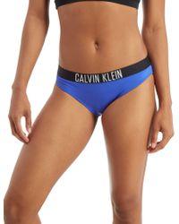 CALVIN KLEIN 205W39NYC - Tape Bikini Bottoms - Lyst