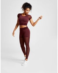 Nike - Pro Training Deluxe Mesh Tights - Lyst