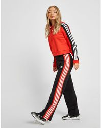 adidas Originals - Wide Leg Sweatpants - Lyst