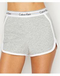 CALVIN KLEIN 205W39NYC - Modern Cotton Sleep Shorts - Lyst