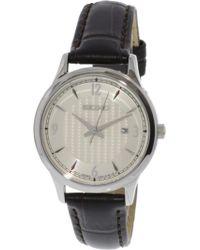 Seiko - Sxdg95 Leather Japanese Quartz Fashion Watch - Lyst