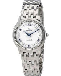 Omega - De Ville Ladies Watch 424.10.27.60.04.001 - Lyst