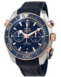 Omega - Seamaster Planet Ocean Chronograph Automatic Watch 215.23.46.51.03.001 - Lyst