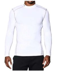 Under Armour | Mens Coldgear Armour Compression Mock | Lyst