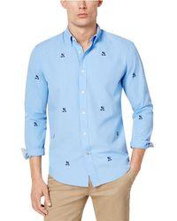 Tommy Hilfiger - Men's Johnson Crest Critter Shirt - Lyst