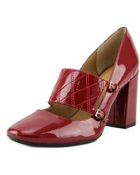 Calvin Klein - Casilla Women Us 10 Red Mary Janes - Lyst