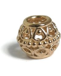 PANDORA - Authentic Gilded Cage Charm - Lyst