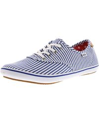 a146fe0133 Vans - Huntley Faded Flag Ankle-high Canvas Skateboarding Shoe - 11m - Lyst