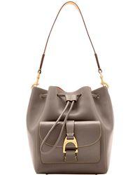 d1436171af49 Dooney   Bourke - Emerson Marlowe Drawstring Shoulder Bag - Lyst