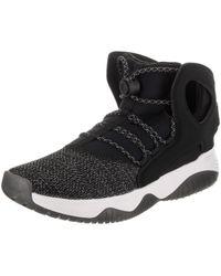 Nike - Air Flight Huarache Ultra Black black white volt Basketball Shoe 12 61aec7365