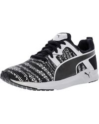 PUMA - Pulse Xt Lazer Etch Silver / Black Ankle-high Training Shoes - 7m - Lyst