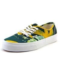 Unisex Authentic Delia Sneakers batikyellow M7 W8.5