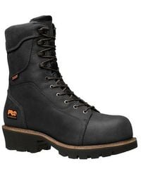 f857dc7a2d2 Timberland Rip Saw Waterproof Composite Toe Csa Logger Boot in Black ...