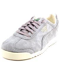 b29172f7f6d99a PUMA - Roma Distressed Gray Sneakers - Lyst