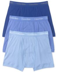 CALVIN KLEIN 205W39NYC - Cotton Classics Boxer Briefs, Pack Of 3 - Lyst