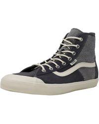 f96effdd8a Vans - Dazie-hi Geo Wool High-top Suede Skateboarding Shoe - 10m -