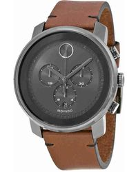 Movado - Bold Chronograph Grey Dial Watch 3600367 - Lyst
