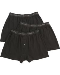 CALVIN KLEIN 205W39NYC - Cotton Classic Knit Boxer (3-pack) - Lyst