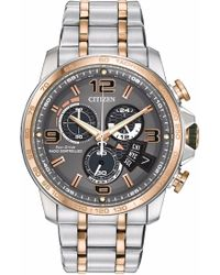 Citizen - By0106-55h Two-tone Analog Eco-drive Watch - Lyst