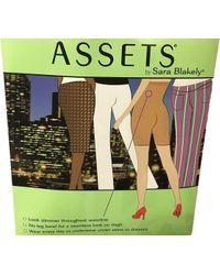 9424bd0daac Lyst - Spanx Assets By Sara Blakely A Brand Chic Peek Mid-thigh 1155 ...