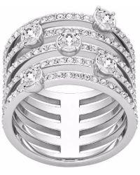 Swarovski - Creativity Ring Size 6 - Lyst