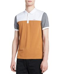 Calvin Klein - Liquid Cotton Rugby Polo Shirt - Lyst