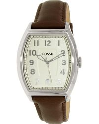 Fossil - Narrator Fs4880 White Dial Watch - Lyst