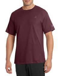 Champion - Jersey Cotton Solid T-shirt - Lyst