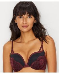 fb9305afb9 Lyst - Maidenform Love The Lift Strapless Push-up Bra in Black