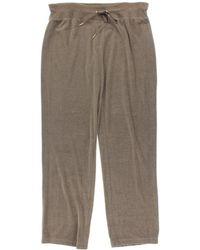 CALVIN KLEIN 205W39NYC - Womens Wide Leg Drawstring Velour Pants - Lyst