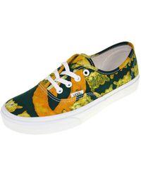 b01073e3f7 Lyst - Vans Unisex Authentic Sneakers Passionflowertruewhite M3.5 W5 ...