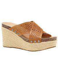 Lucky Brand - Neeka Slide Wedge Sandal - Lyst