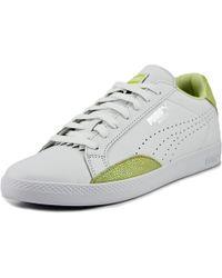 1178d7690ac Lyst - Puma Women s Match Lo Basic Tennis Shoe in Black