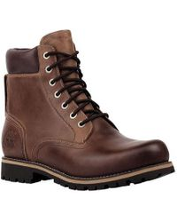 Timberland - Earthkeepers Rugged 6' Waterproof Plain Toe Boot - Lyst