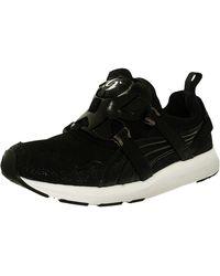 d13de86fd06 PUMA - Disc Black Ankle-high Fashion Sneaker - Lyst