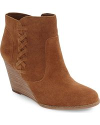Jessica Simpson - Charee Ankle Bootie - Lyst