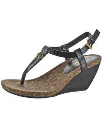 Ralph Lauren - Reeta Split Toe Casual T-strap Sandals Kid - Lyst