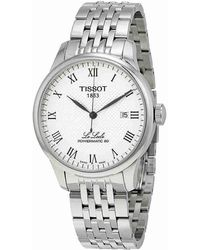 Tissot - Le Locle Powermatic 80 Automatic Dial Watch T0064071103300 - Lyst