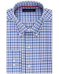 Tommy Hilfiger - Non Iron Button Up Dress Shirt Blue 15 1/2 - Lyst