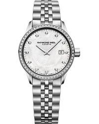 Raymond Weil - Freelancer Ladies Stainless Steel Bracelet Watch - Lyst