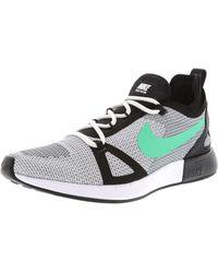 Nike - Duel Racer White / Ta-black Ankle-high Running Shoe - 8m