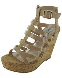 72c46b756ae9 Lyst - Badgley Mischka Calico Wedge Sandal in Metallic