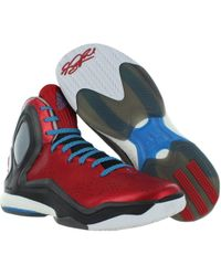 74ed077a017c Lyst - Adidas Derrick Rose 5 Boost Men Round Toe Synthetic ...