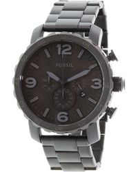 Fossil - Jr1401 Nate Stainless Steel Watch - Lyst