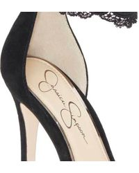 Jessica Simpson - Portalynn Ankle Strap D'orsay Shoe - Lyst