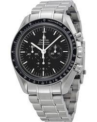 Omega - 311.30.42.30.01.005 Speedmaster Professional Stainless Steel Watch - Lyst